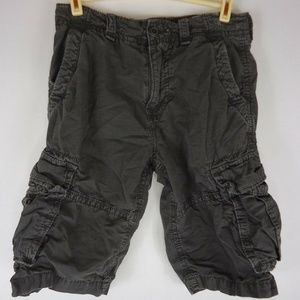 American Eagle Cargo Shorts Size 28 Mens Longer Le